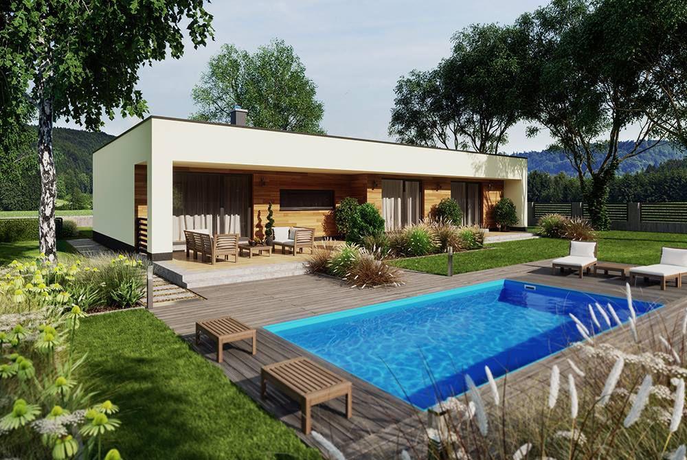 Moderní bazény s přelivem pro zážitek z koupání