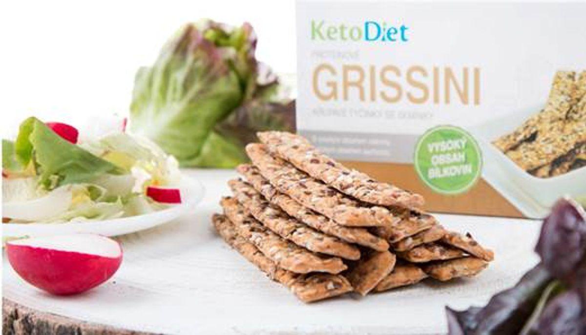 Keto dieta – Proteinové grissini – KetoDiet.cz